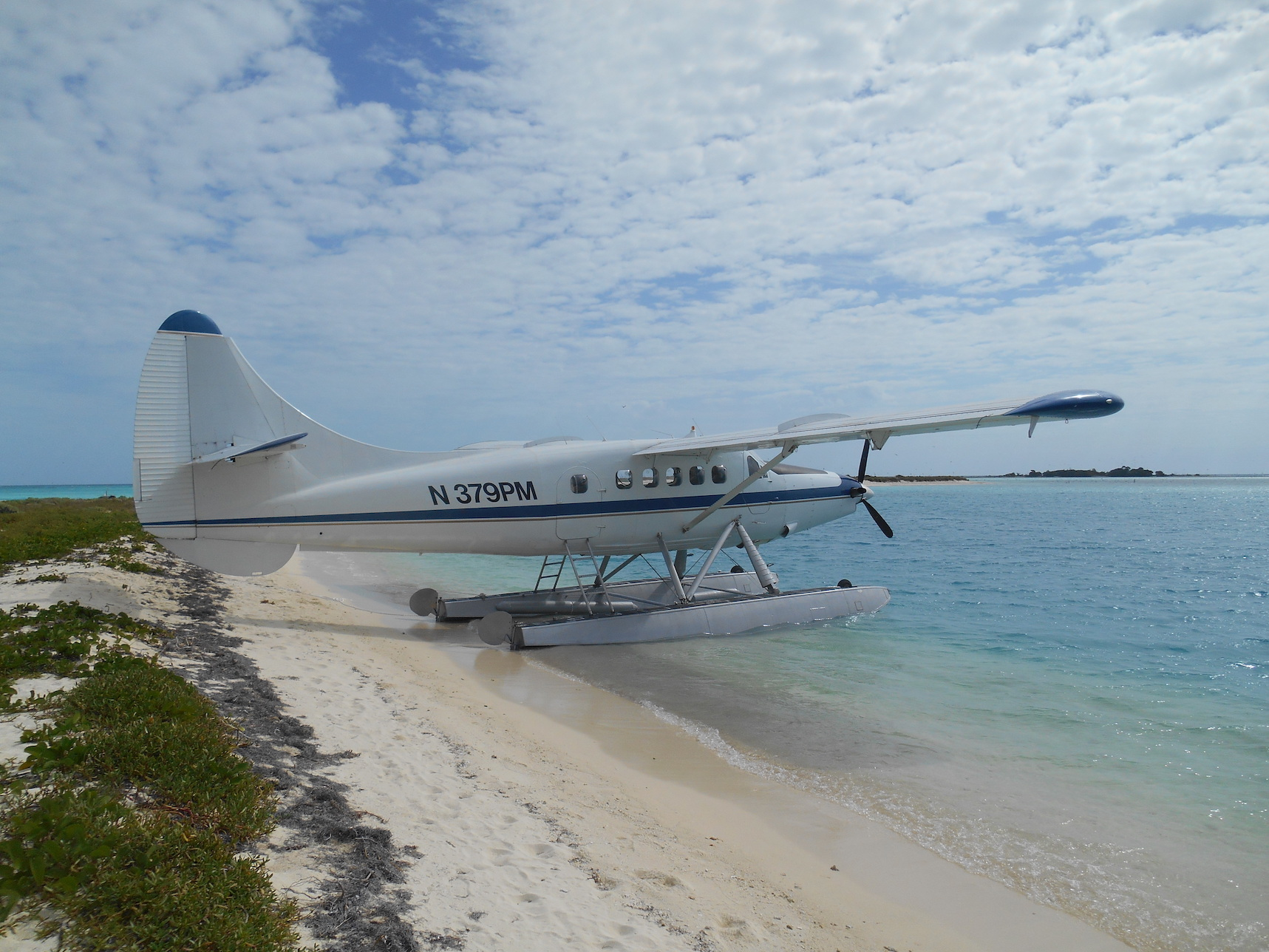Seaplane at Dry Tortugas