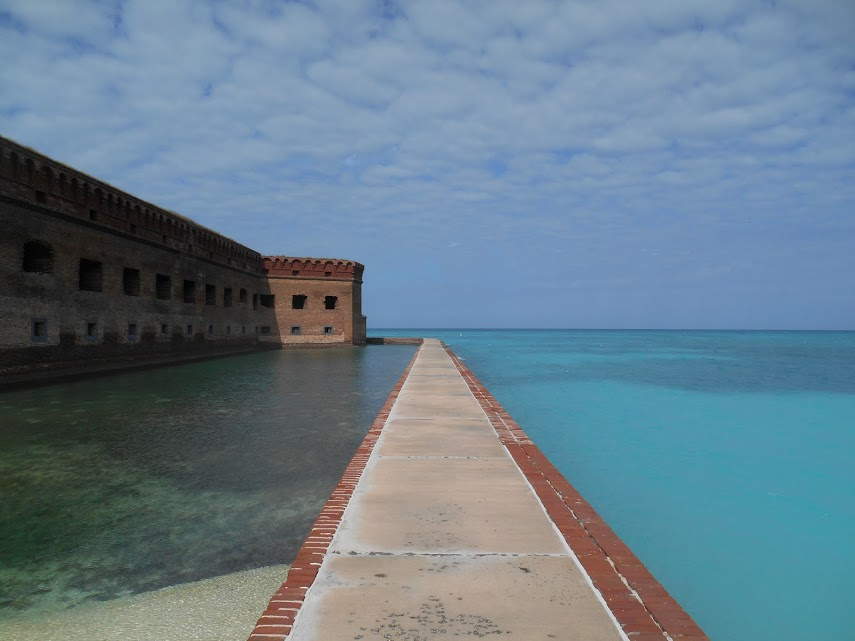 Fort Jefferson on Garden Key, in the Dry Tortugas